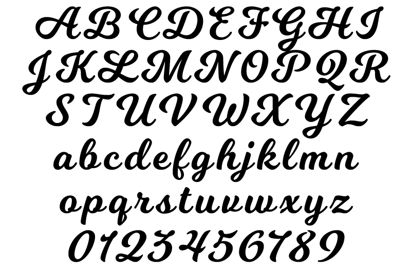Font Choices. Original. Alternative. Allstar. Script