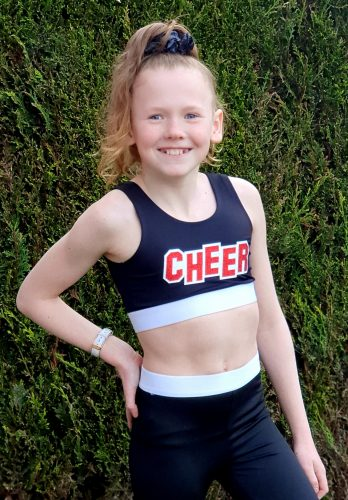 Cheer Inspired Crop Top photo review