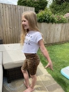 Leopard Print Cheer Cycling Shorts photo review